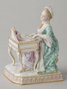 マイセンドール 人形の陶器