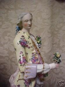 マイセン人形、偽物の造形